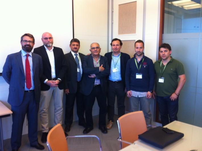 Reunión de AEMON con Iberdrola: satisfacción por la solución de las incidencias que afectaban a las áreas empresariales de Moncada.