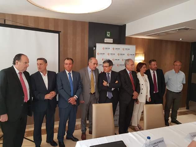 Los polígonos aragoneses muestran su apoyo al Corredor Mediterráneo por Teruel