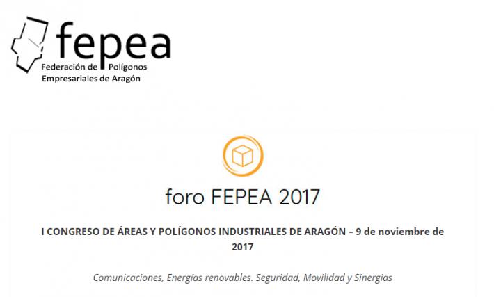 I CONGRESO DE ÁREAS Y POLÍGONOS INDUSTRIALES DE ARAGÓN – 9 de noviembre de 2017