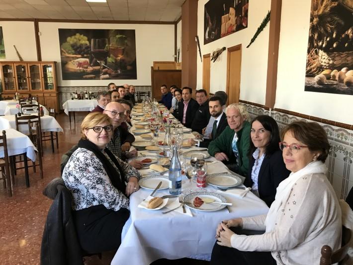 Reunión de empresas para la constitución de una asociación empresarial en Quart de Poblet.