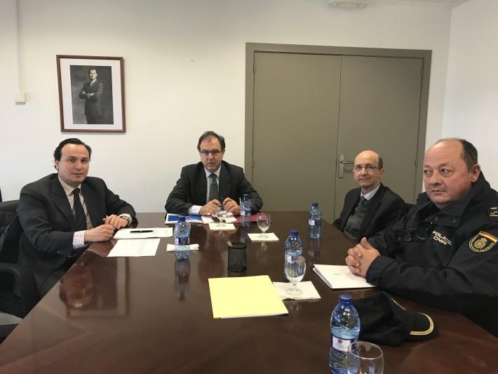 La Federación de Polígonos Empresariales de la Comunidad Valenciana reclama mejoras de movilidad y seguridad de las áreas industriales al Subdelegado del Gobierno