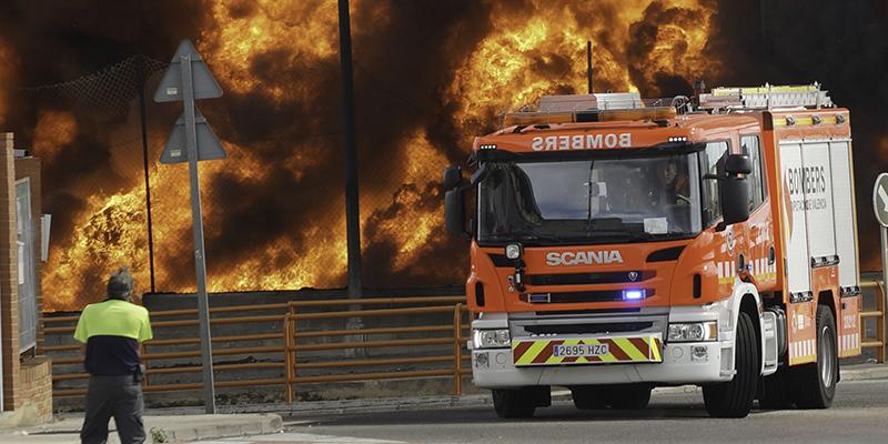 Incendi en Font del Gerro, Paterna