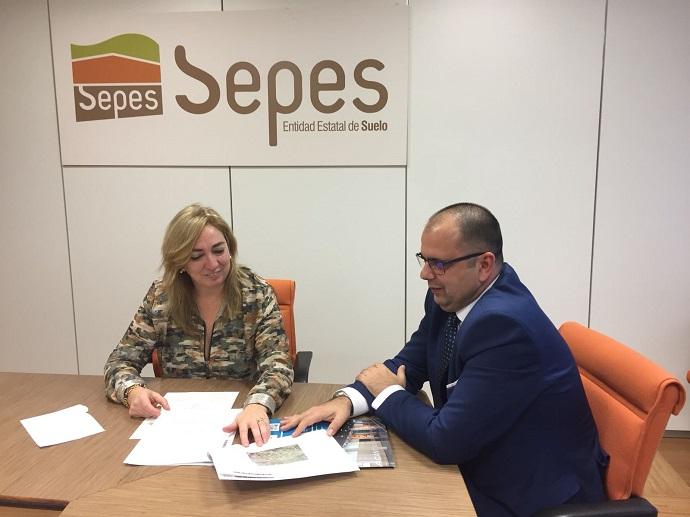 Alicante acuerda con el SEPES la ampliación del polígono Las Atalayas